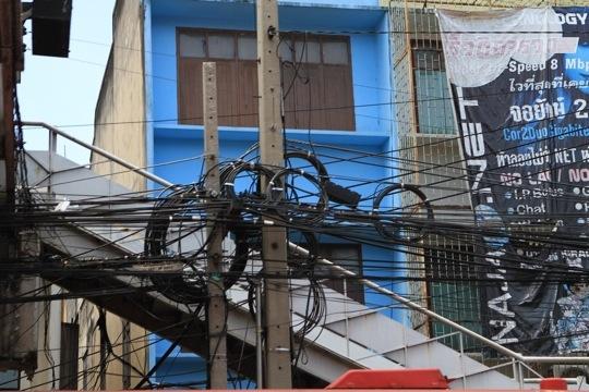 Elektriker in Bangkok- ein (Alp-) Traumjob