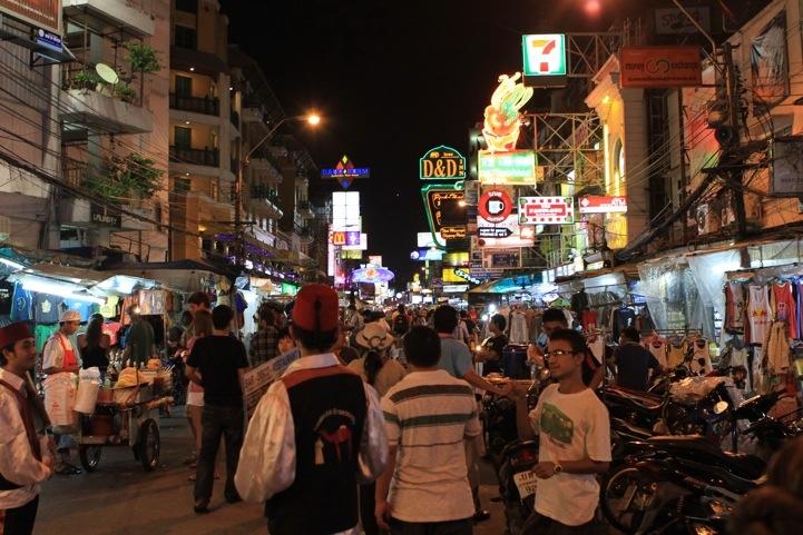 Second Night in Bangkok